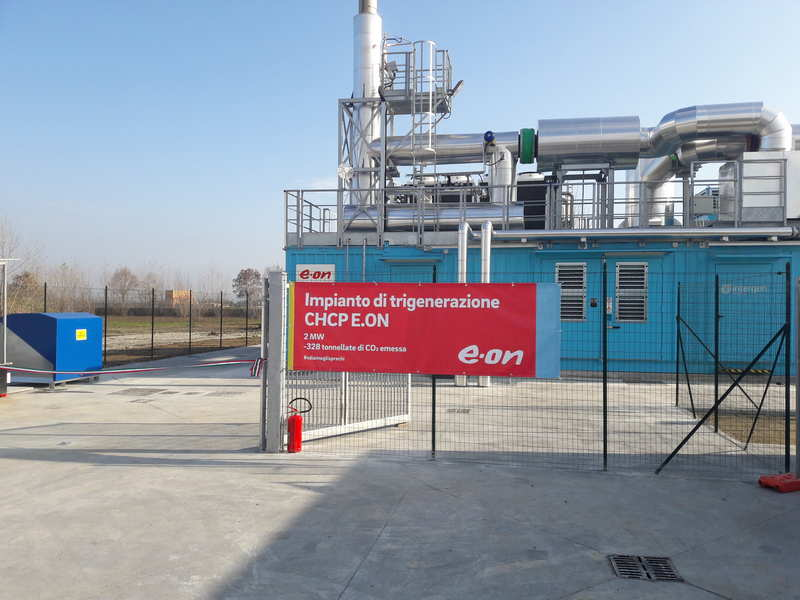 impianto di trigenerazione guala closures