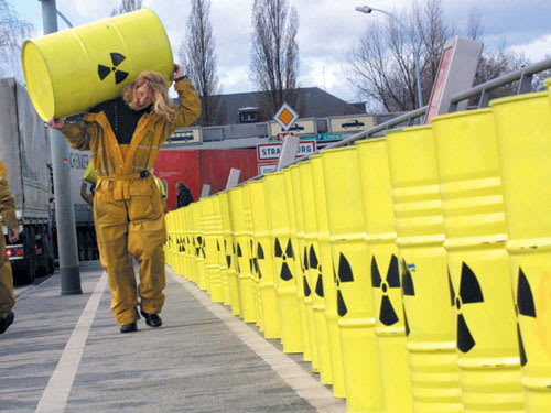 localizzazione deposito rifiuti radioattivi
