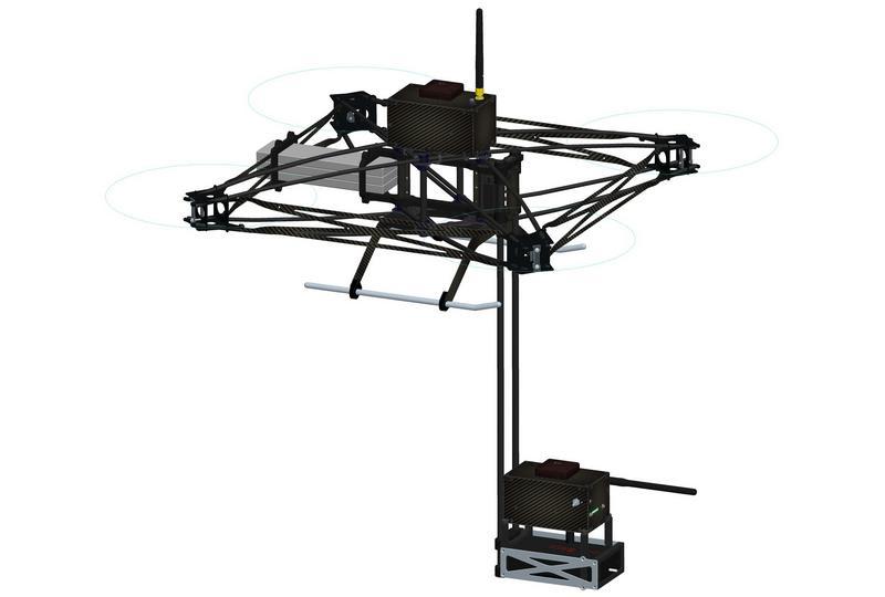drone salvataggio valanghe