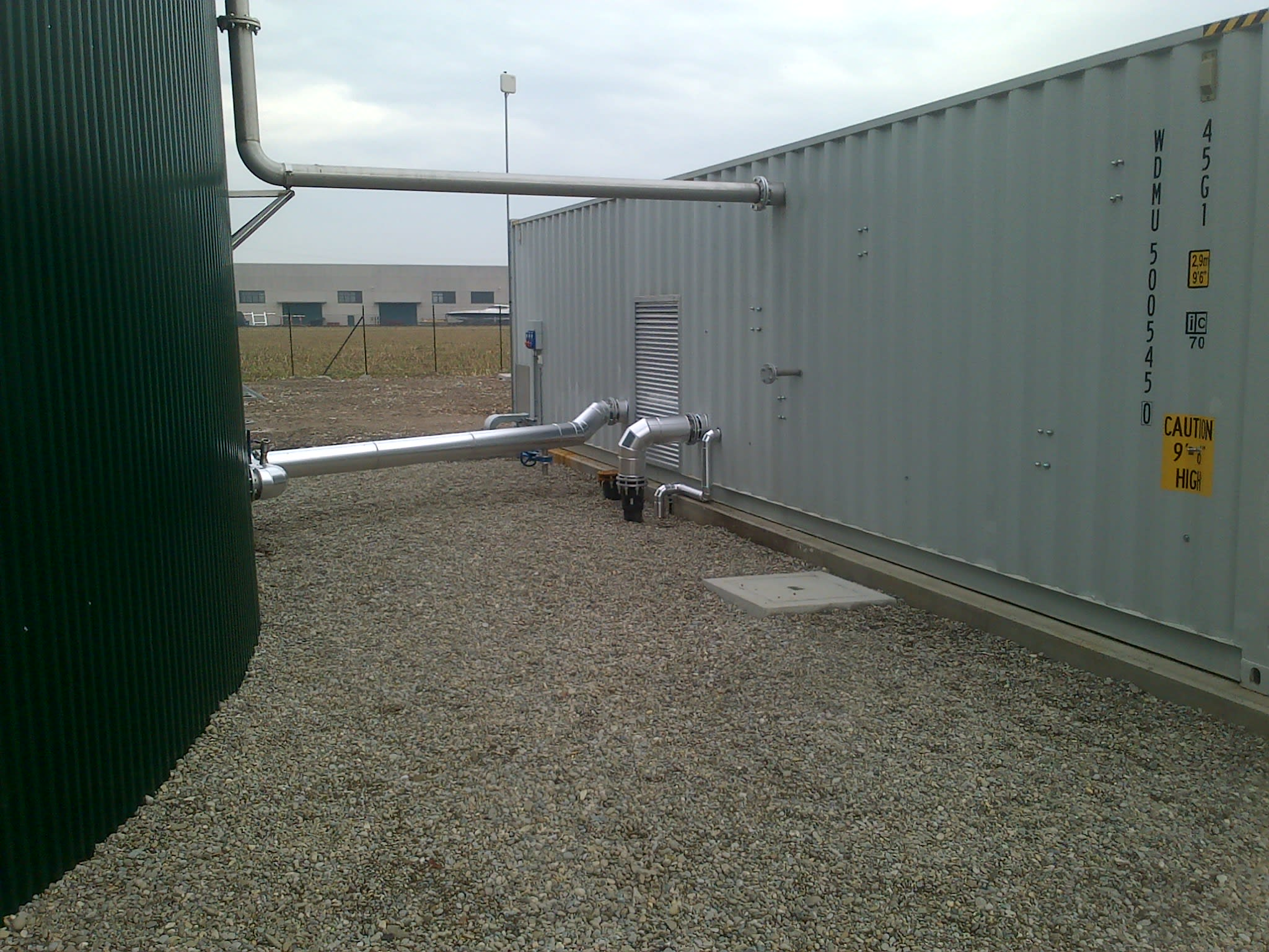 produzione biometano da biogas