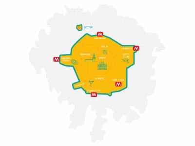 mappa operativa servizio MiMoto