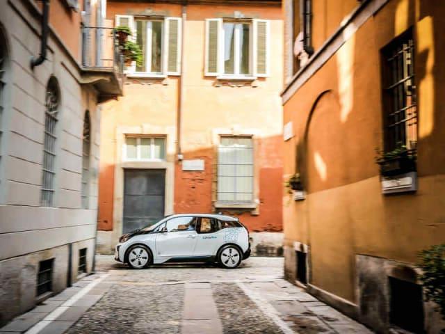 car sharing elettrico - drivenow