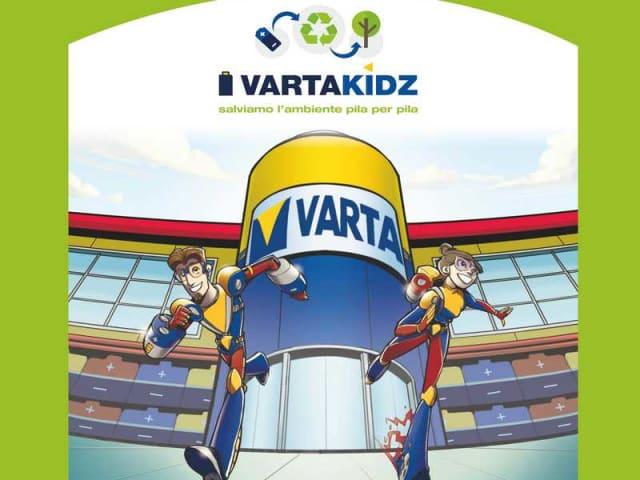 vartakidz, campagna informativa riciclo delle pile