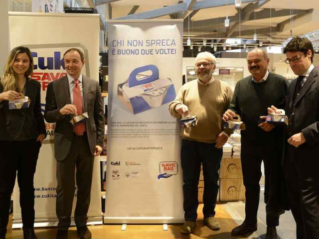 spreco alimentare save bag