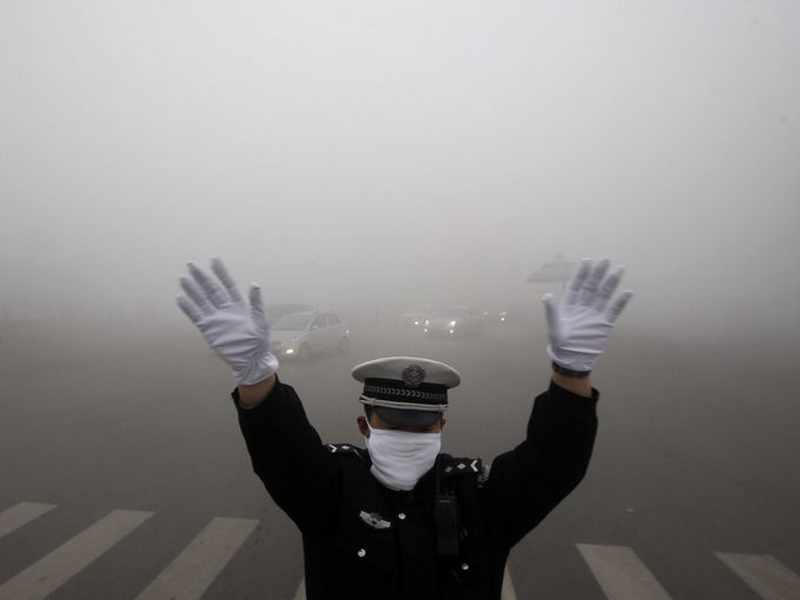 inquinamento delle città