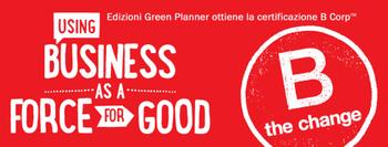 Edizioni Green Planner è una BCorp