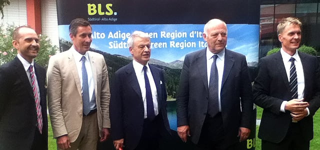 Klimaland di Bolzano, il ministro Clini apprezza