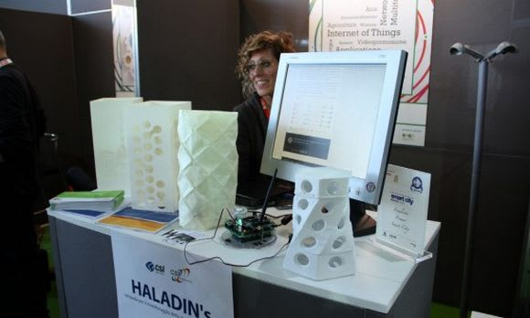 Haladin's controlla la qualità dell'aria e rileva le sostanze nocive