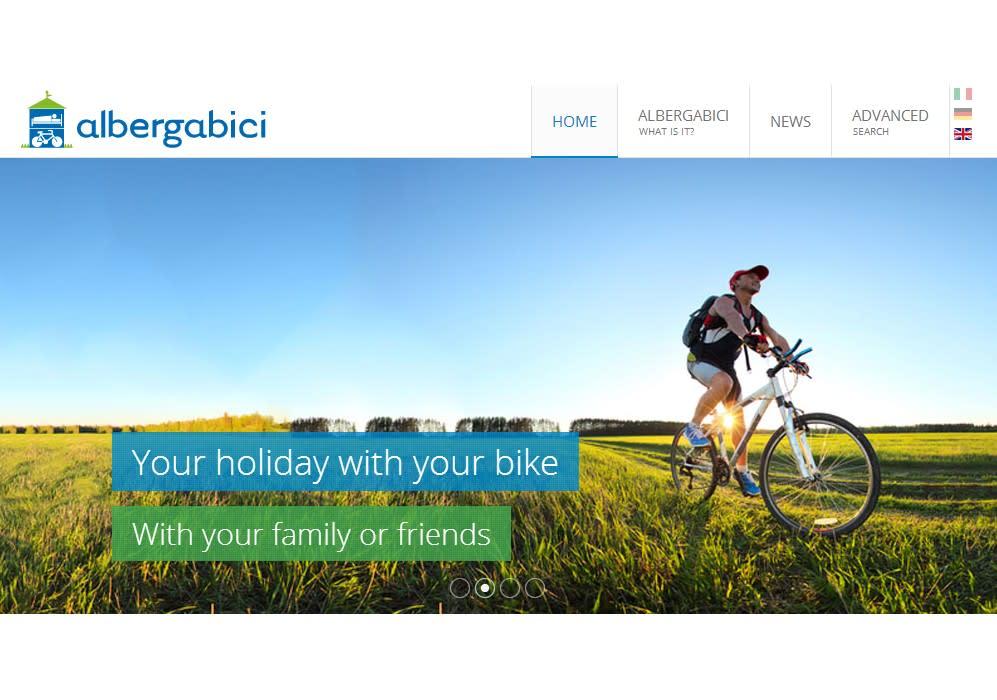 Albergabici, il portale per cicloturisti rinnovato e ottimizzato