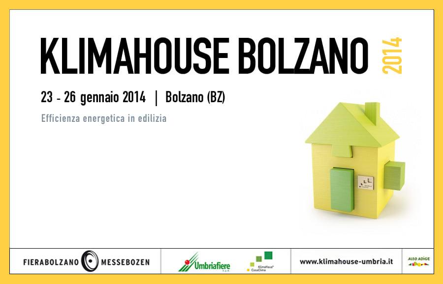 Efficienza energetica e risanamento in edilizia a Klimahouse 2014