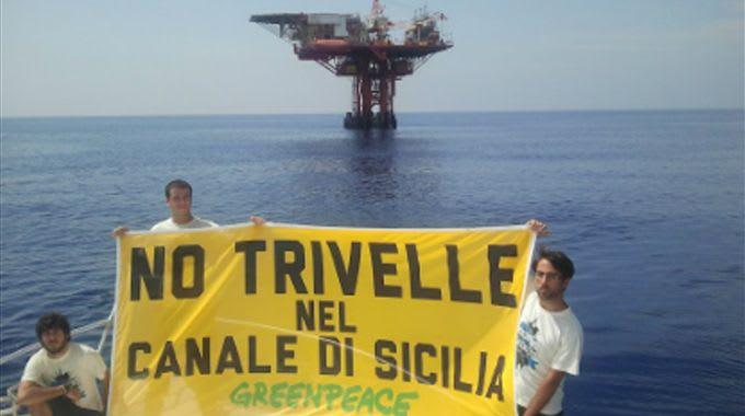 Canale di Sicilia, arriva la diffida alla Commissione VIA