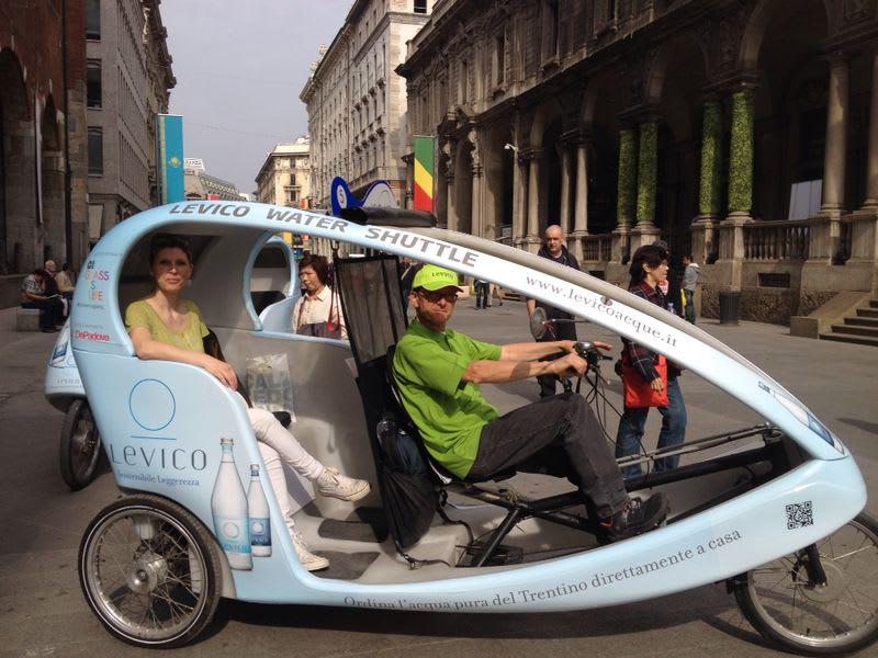 Water Shuttle: il trasporto sostenibile alla Milano Design Week