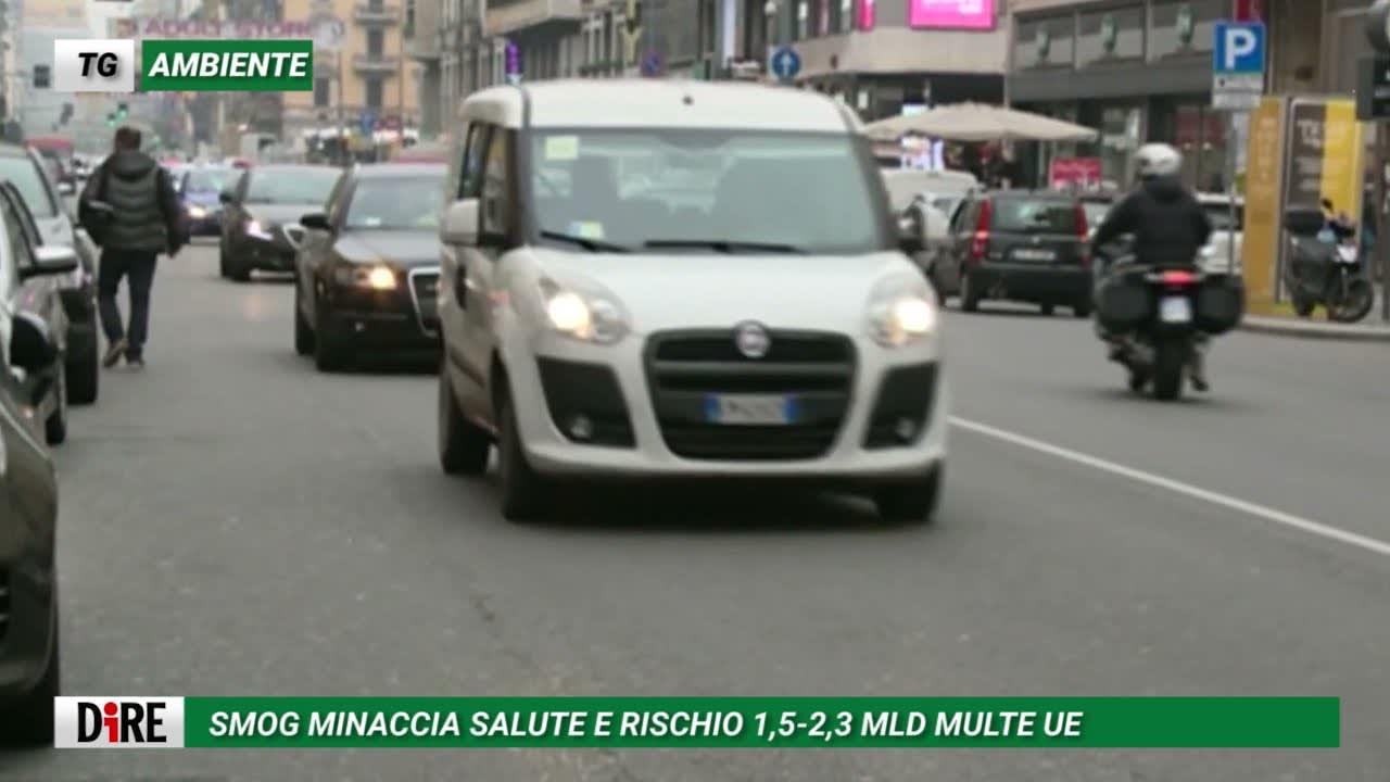 Tg Ambiente del 14 settembre: lo smog minaccia la salute e l'Italia ora rischia pesanti sanzioni Ue