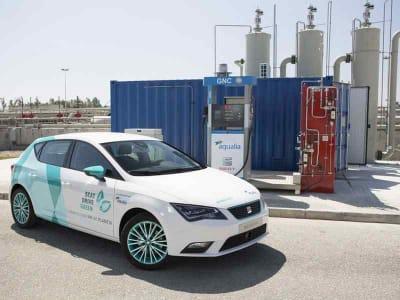 biocarburante dalle acque reflue seat e aqualia