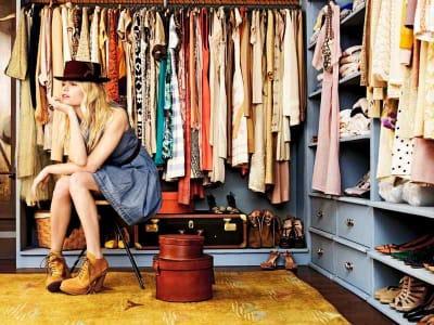 scambiare i vestiti inutilizzati