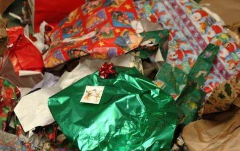 raccolta differenziata a Natale
