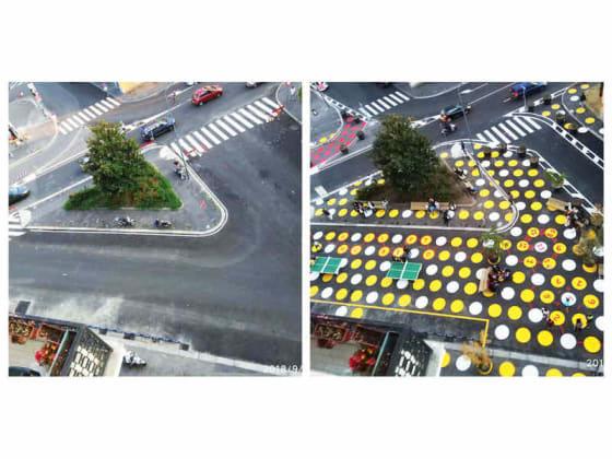 urbanistica tattica - piazza dergano