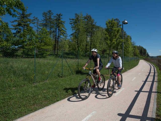 giardinaggio italiano - pista ciclabile green