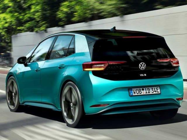 test drive della Volkswagen ID.3