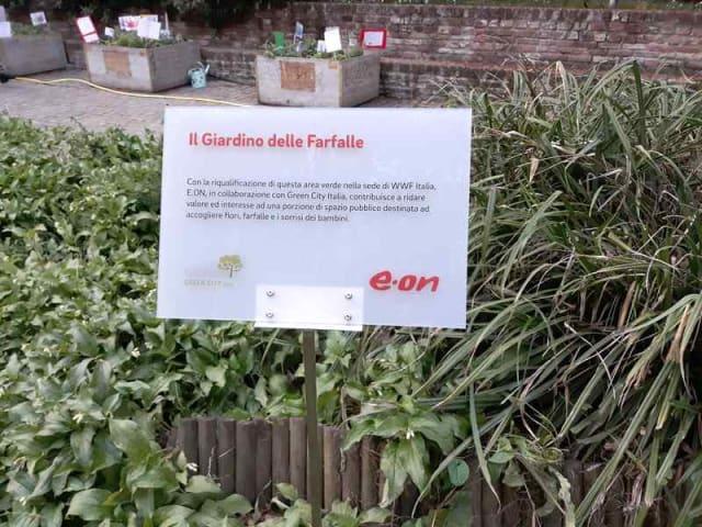 giardino delle farfalle - milano - eon