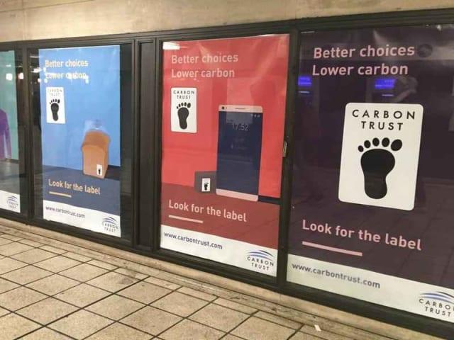 marchio tutela ambientale - carbon trust