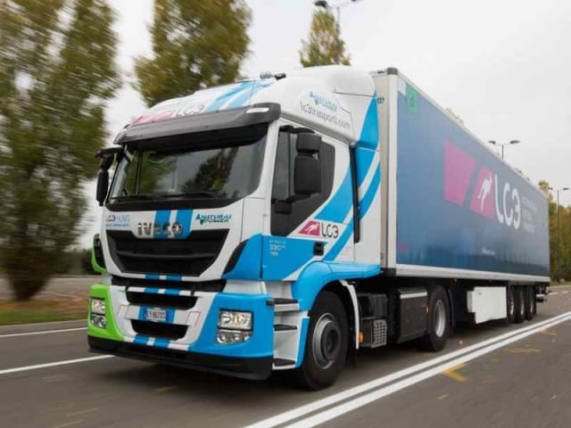 trasporto merci sostenibile