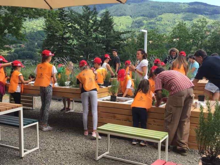 Inaugurati i laboratori green dell'associazione Dynamo Camp