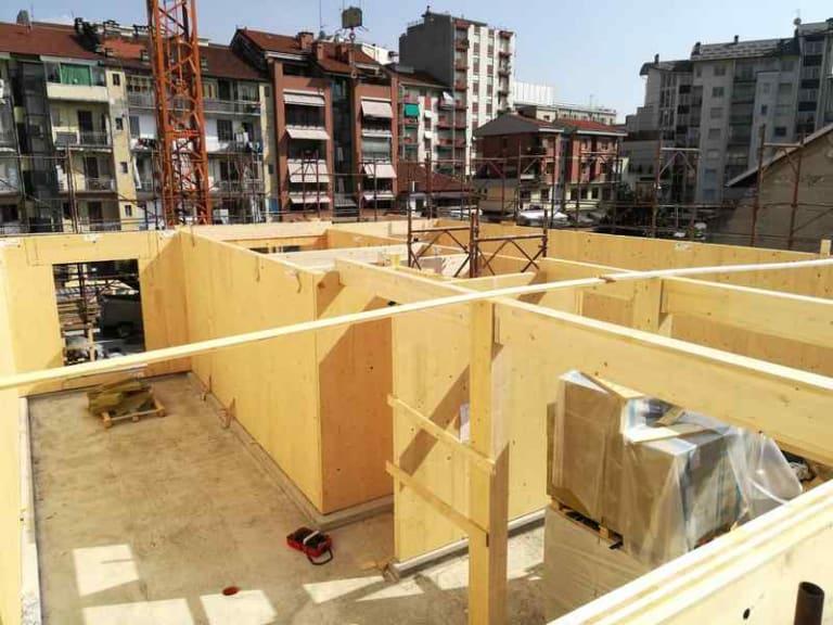 Progetto Green Torino, un palazzo di 7 piani costruito interamente in legno