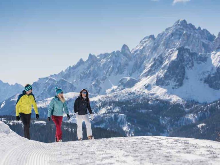 Tre cime nelle Dolomiti, tra piste nere e turismo sostenibile