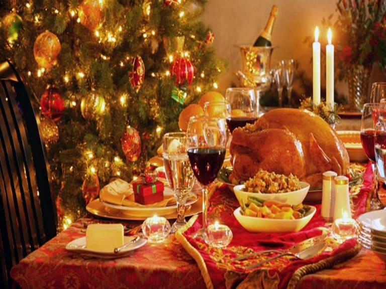 Tutto è pronto per un pranzo di Natale sostenibile e salutare