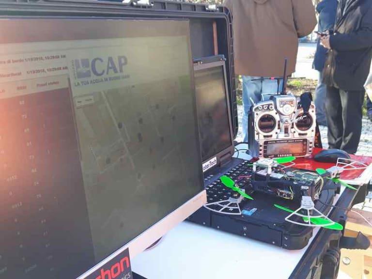 Lettura dei contatori dell'acqua: a Milano parte la sperimentazione con i droni