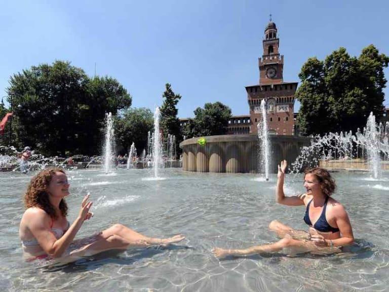 Le rilevazioni climatiche tracciano un'estate milanese calda e arida