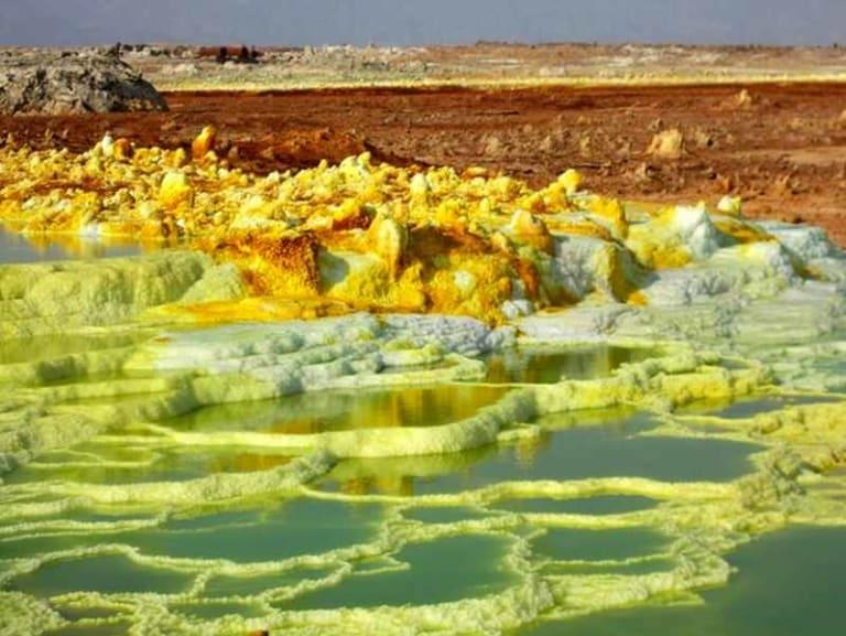 Sul Monte Dallol si studia la vita adatta a Marte
