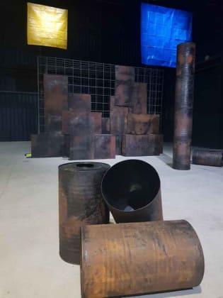sheela gowda - esposizione hangar bicocca milano