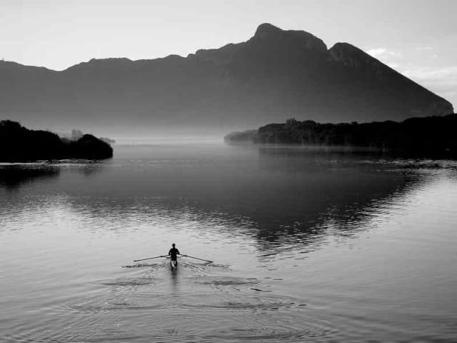 sabaudia - lago di paola