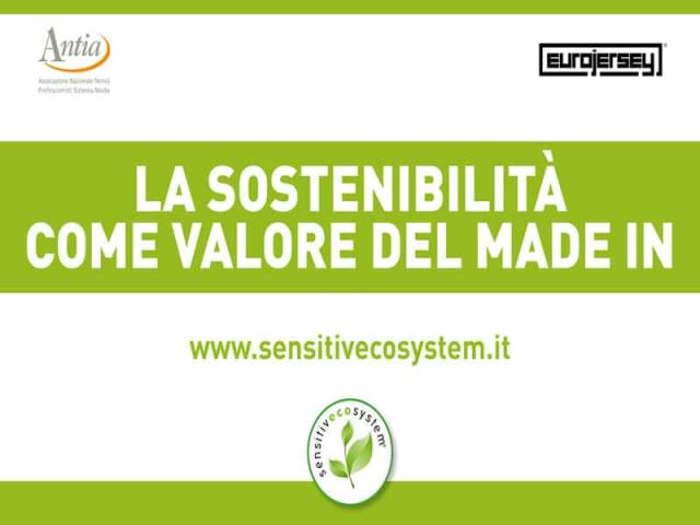 sostenibilità moda made in italy