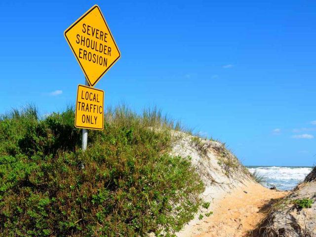 erosione costiera - fenomeni climatici estremi
