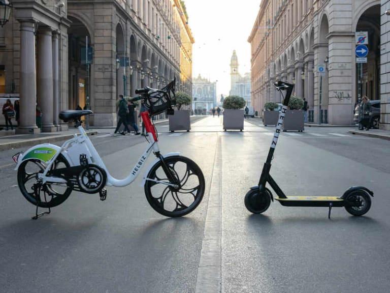 Monopattini e biciclette elettriche gratis, nei centri urbani