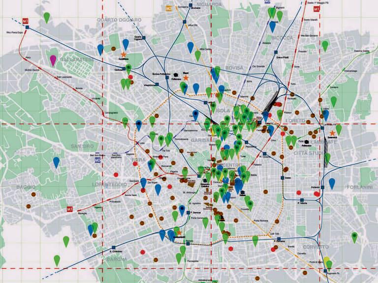 Green City Map, la mappa degli edifici sostenibili di Milano