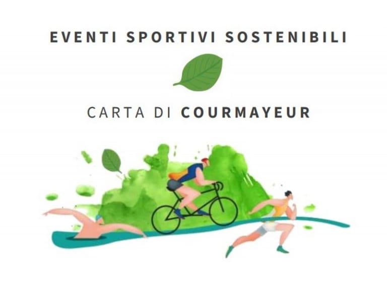 Eventi Sportivi Sostenibili, firmata la Carta di Courmayeur