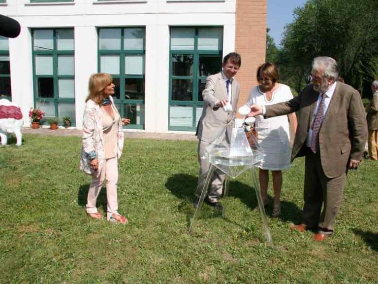 Inaugurazione del Museo Acqua Franca, porto franco per l'arte a Milano