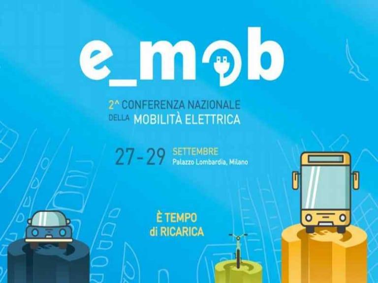 e_mob 2018, a Milano la Conferenza Nazionale della Mobilità Elettrica