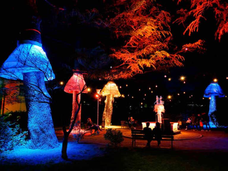 A Bressanone l'arte incontra acqua e luce nel Water Light Festival