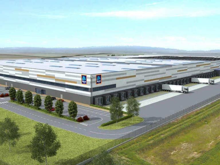 Nuovi posti di lavoro con il centro logistico Aldi di Landriano