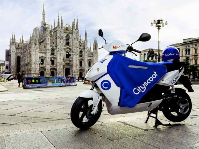 A Milano mobilità sempre più sostenibile: arriva Cityscoot