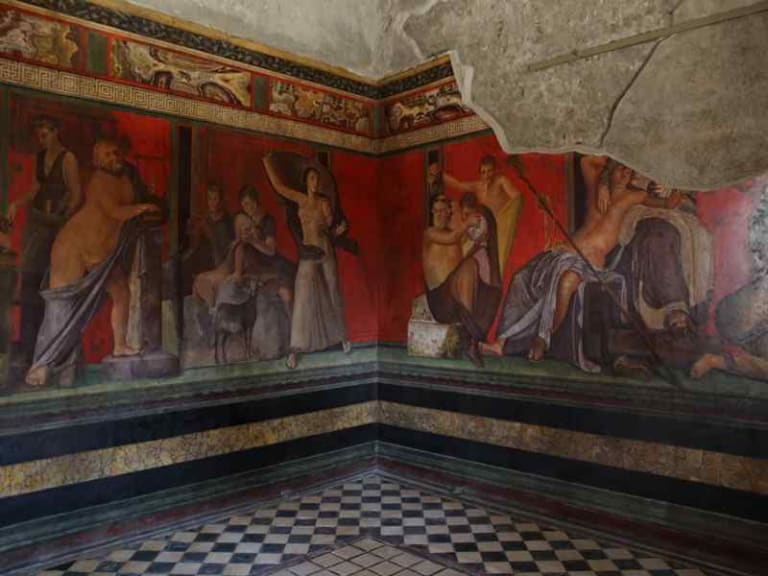 Villa dei Misteri a Pompei, le indagini ENEA