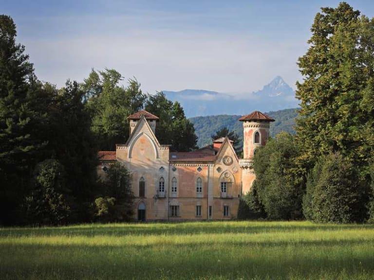 Storia di un Castello (quello di Miradolo) e del suo parco