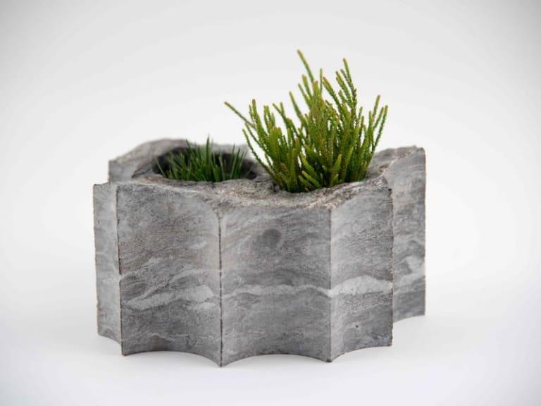 La bellezza naturale delle pietre di scarto
