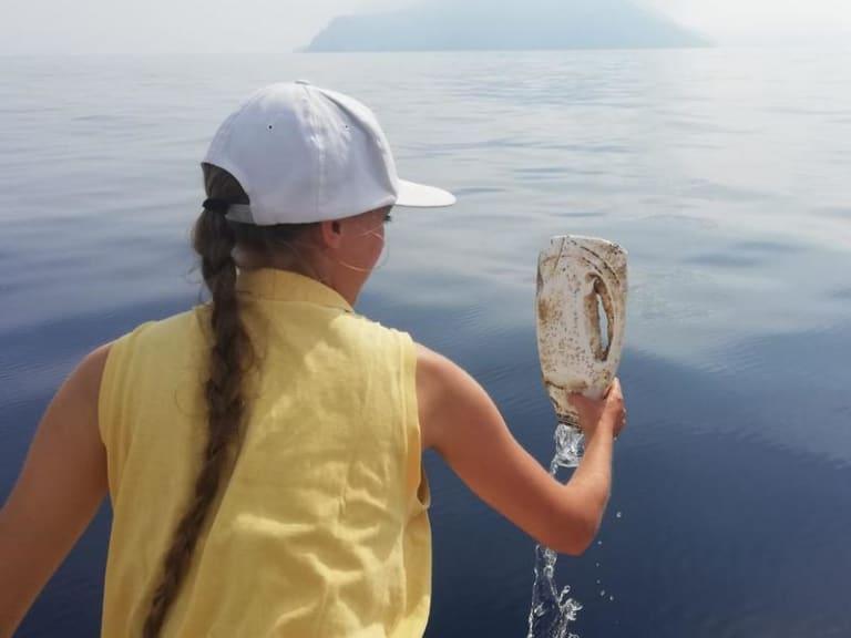 Ricerca sulla fauna marina e lotta all'inquinamento da plastica