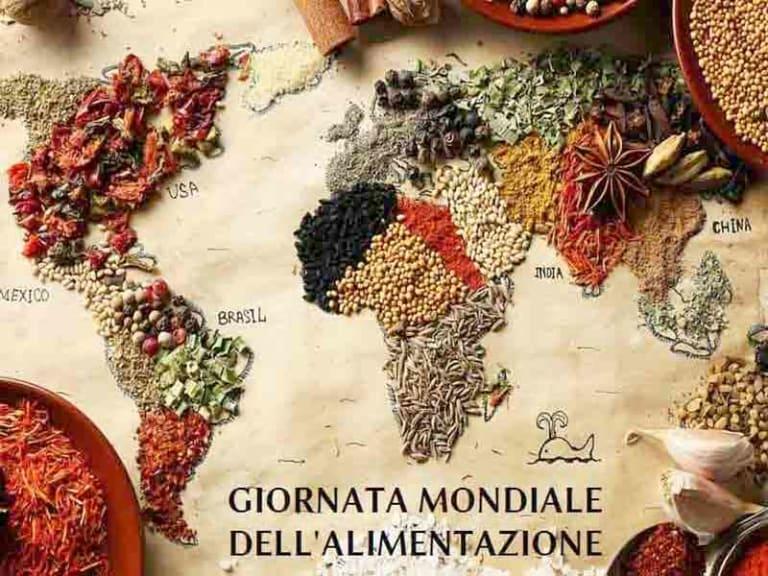 Oggi 16 ottobre è la Giornata mondiale dell'alimentazione